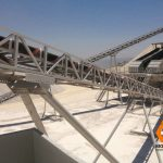High Angle or Sandwich Belt Conveyors
