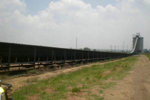 High Angle Belt Conveyor